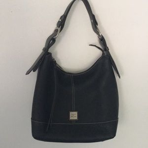 Dooney and Bourke Pebble Leathered Hobo Bag